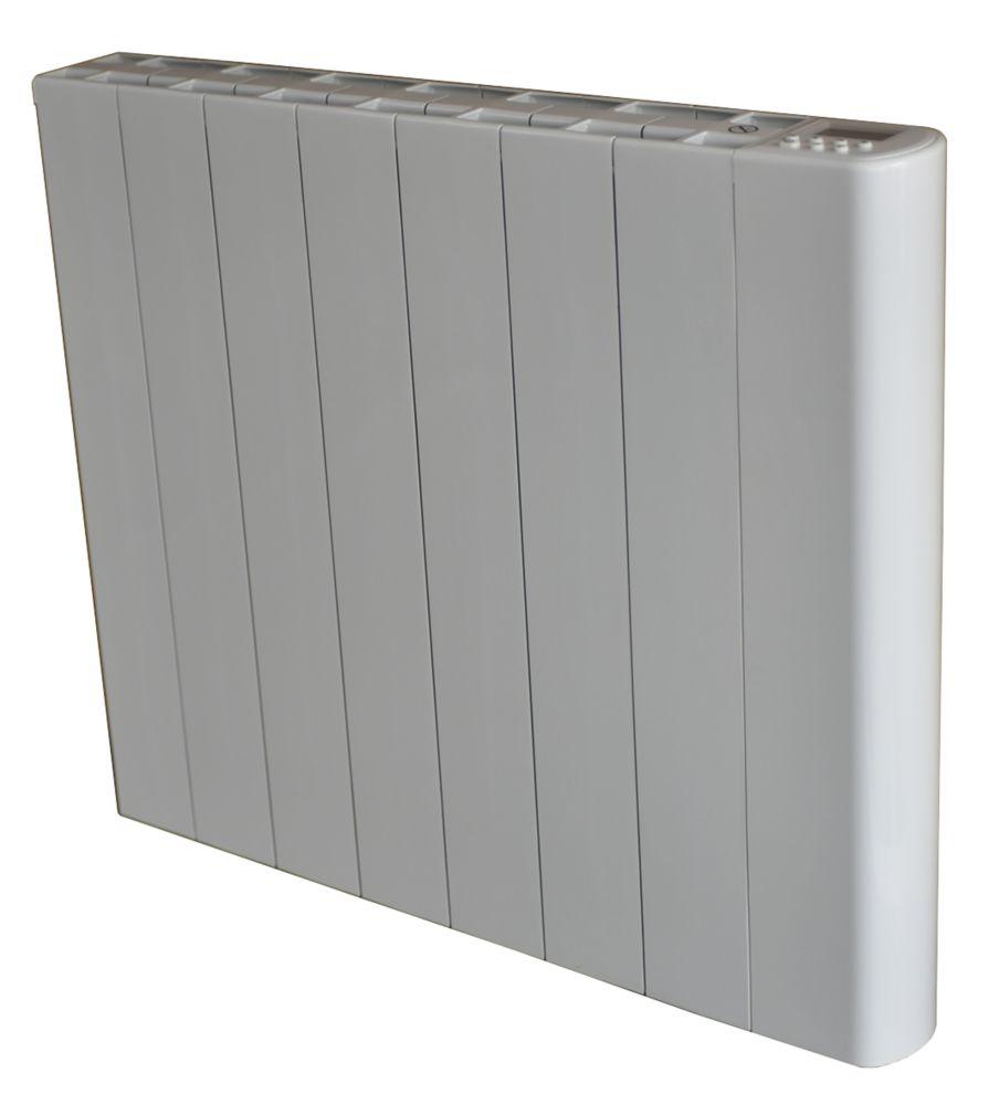 Wall-Mounted Dry Inertia Ceramic Heater White 1500W