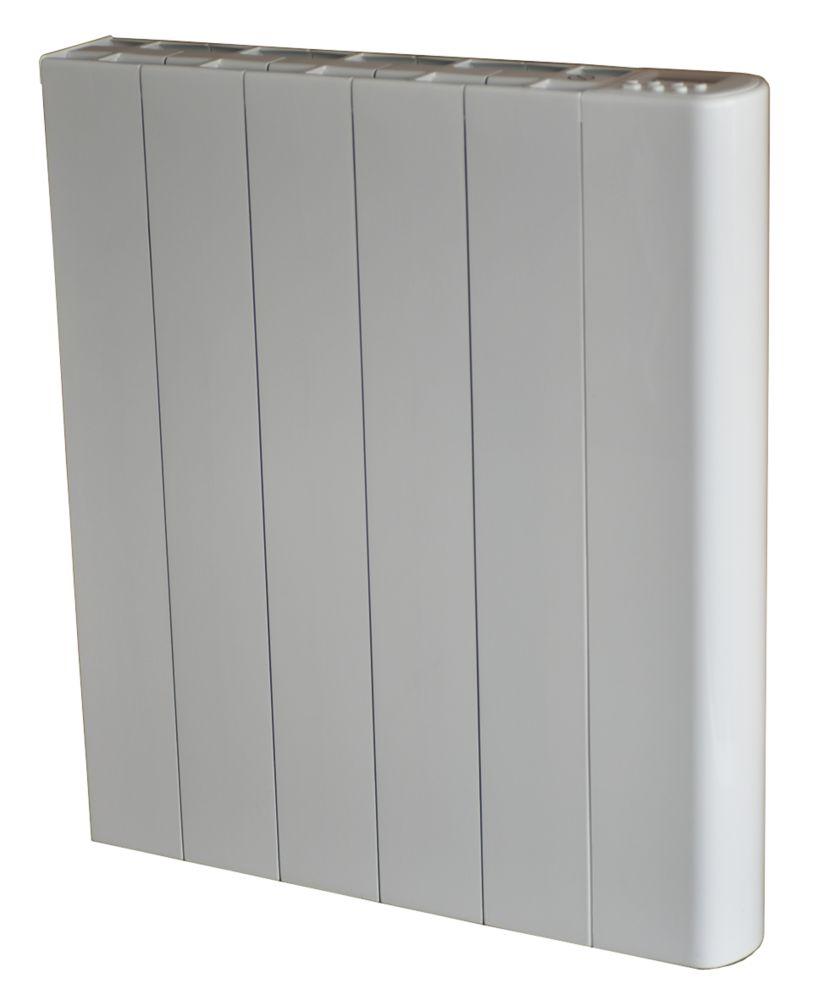 Wall-Mounted Dry Inertia Ceramic Heater White 1000W