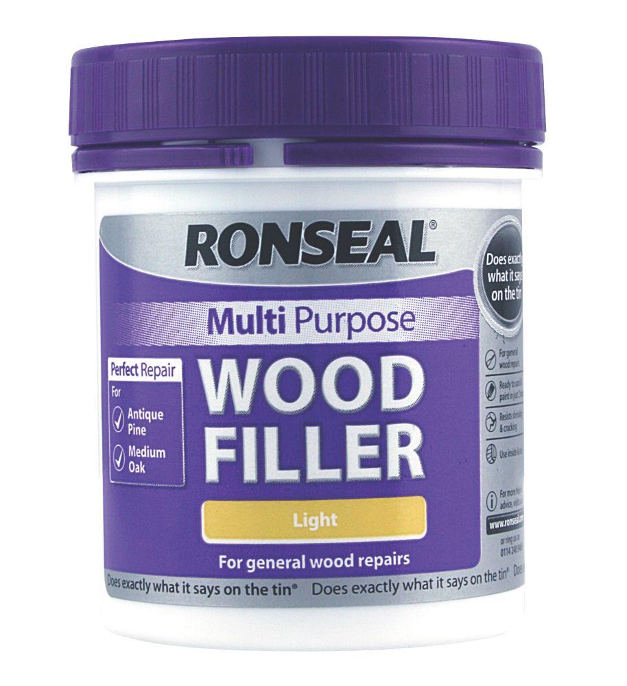 Ronseal Multipurpose Wood Filler Light 250g