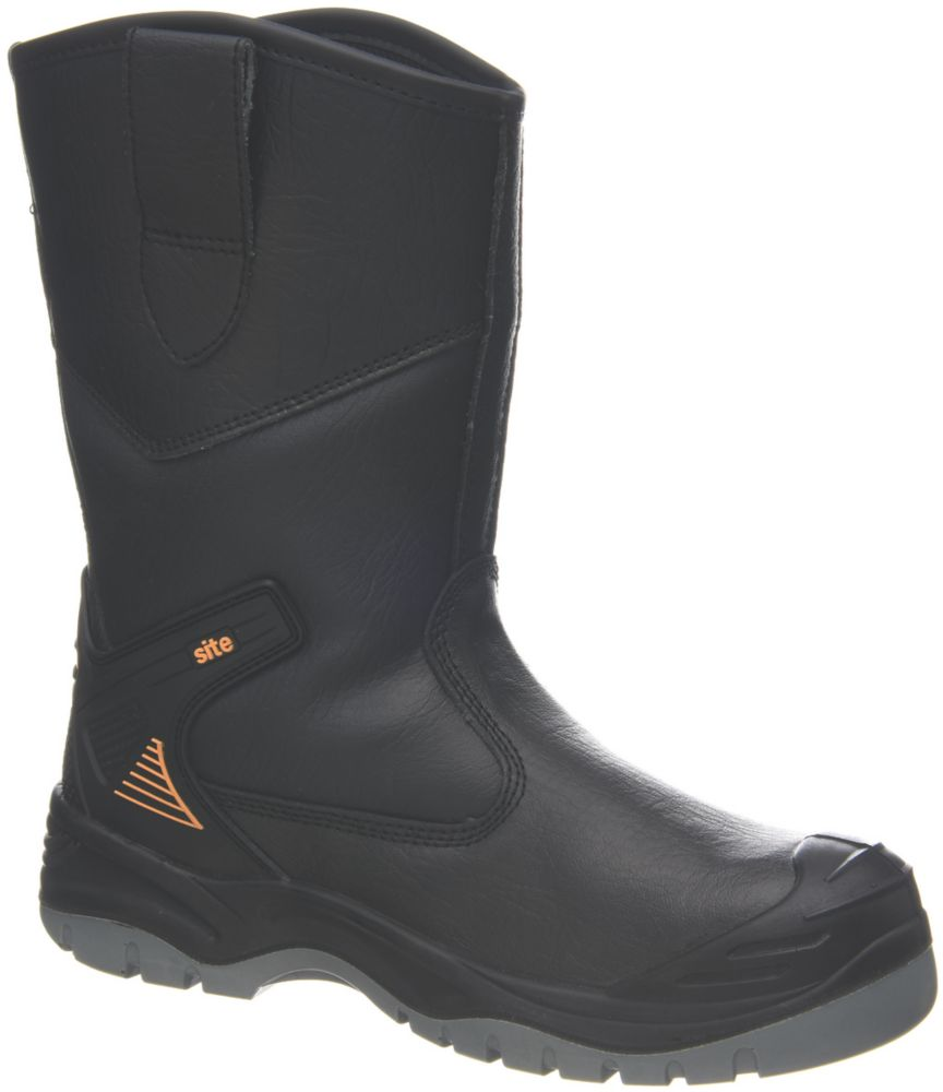 Site Hydroguard   Safety Rigger Boots Black Size 12