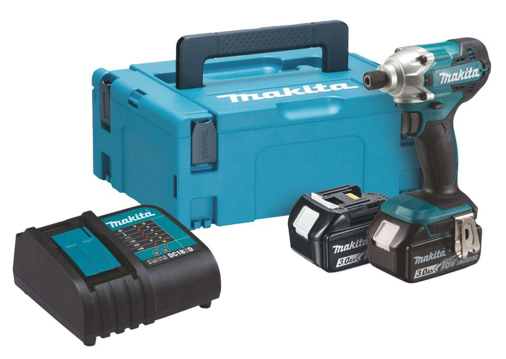 Makita DTD156SFJ 18V 3.0Ah Li-Ion LXT  Cordless Impact Driver