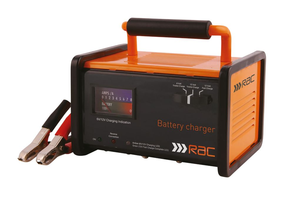 RAC RAC-HP026 12A Battery Charger 6 / 12V