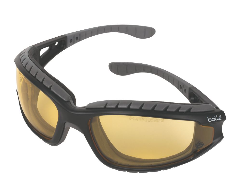 Bolle Tracker II Amber Lens Safety Specs