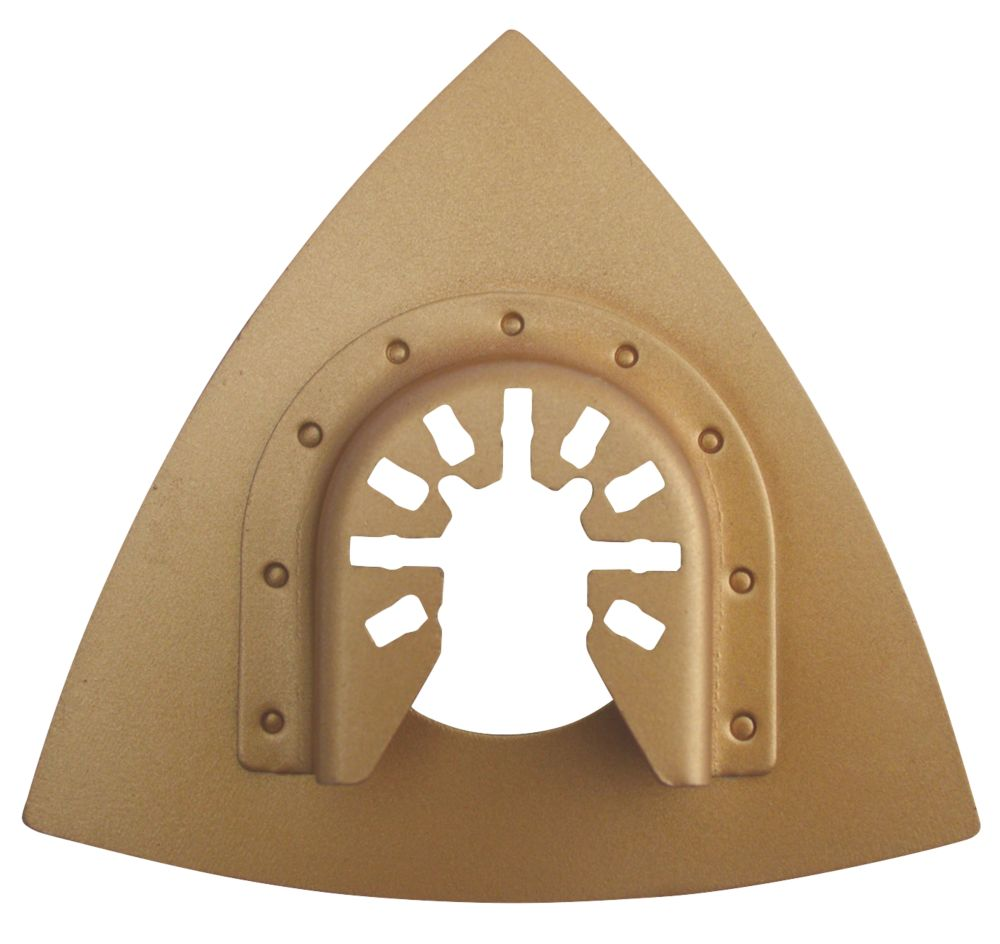 Erbauer Sanding Plate 80 x 80mm
