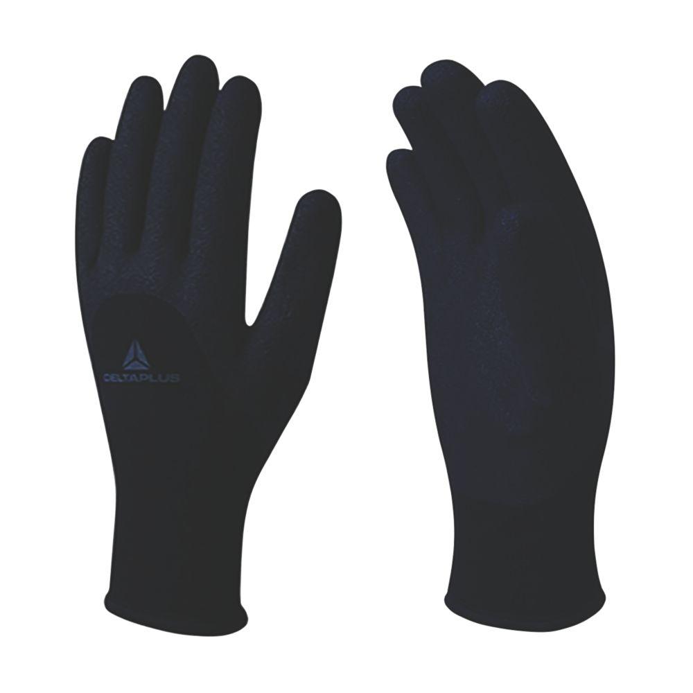Delta Plus VV750NO Thermal Winter Work Gloves Black  Large