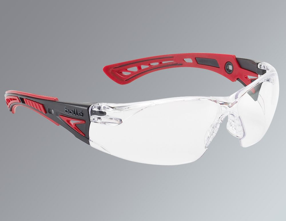 Bolle Rush+ Clear Lens Safety Specs