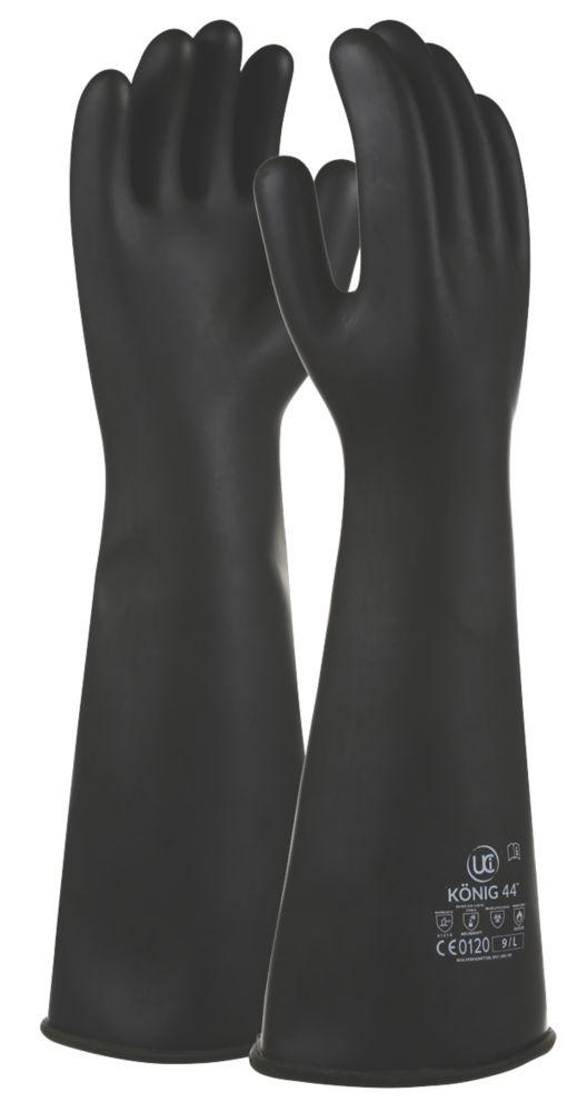 UCI Konig-44 Chemical Hazard Gauntlets Black Large