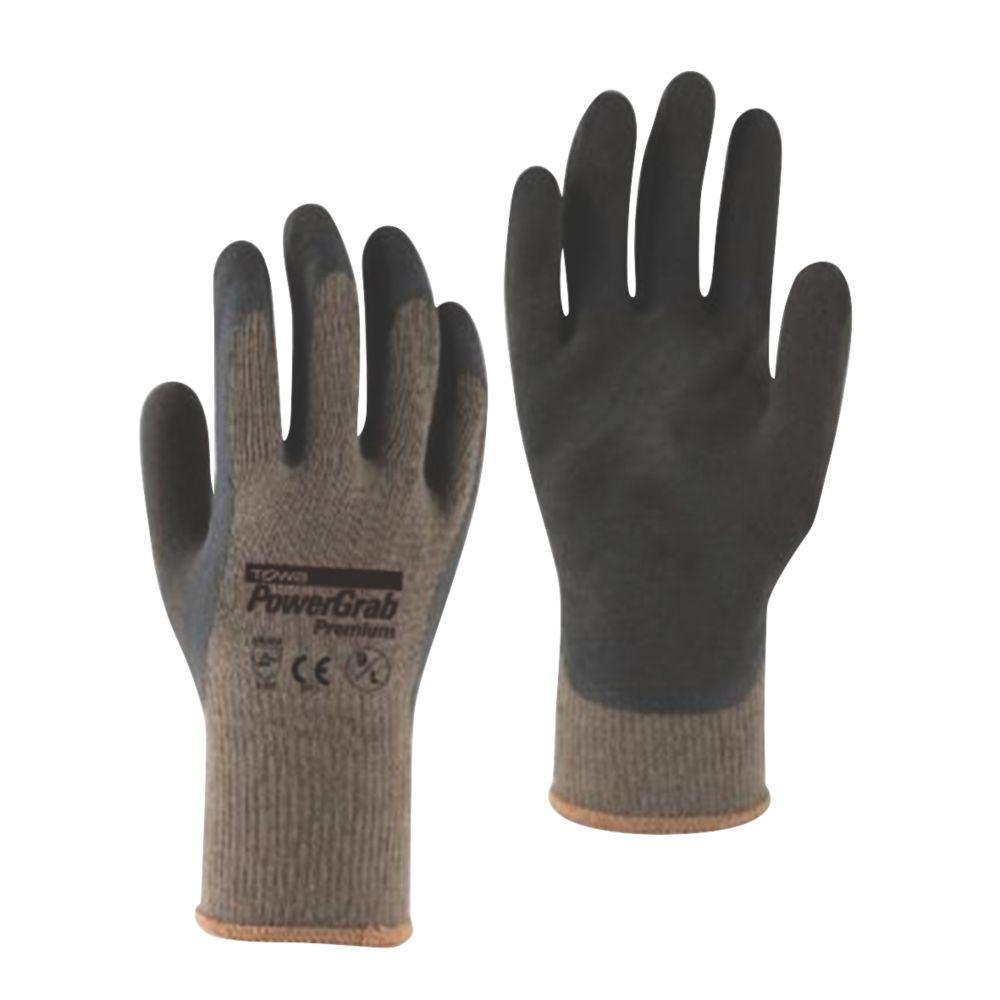 Towa PowerGrab Premium Gloves Brown X Large