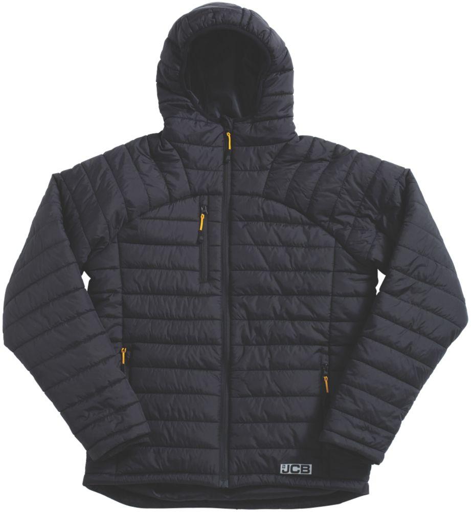 "JCB Trade Padded Jacket Black Medium 44"" Chest"