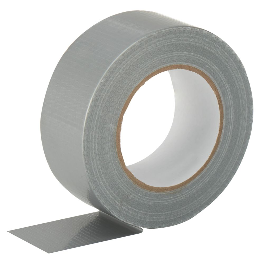 Cloth Tape 27 Mesh Silver 50m x 50mm