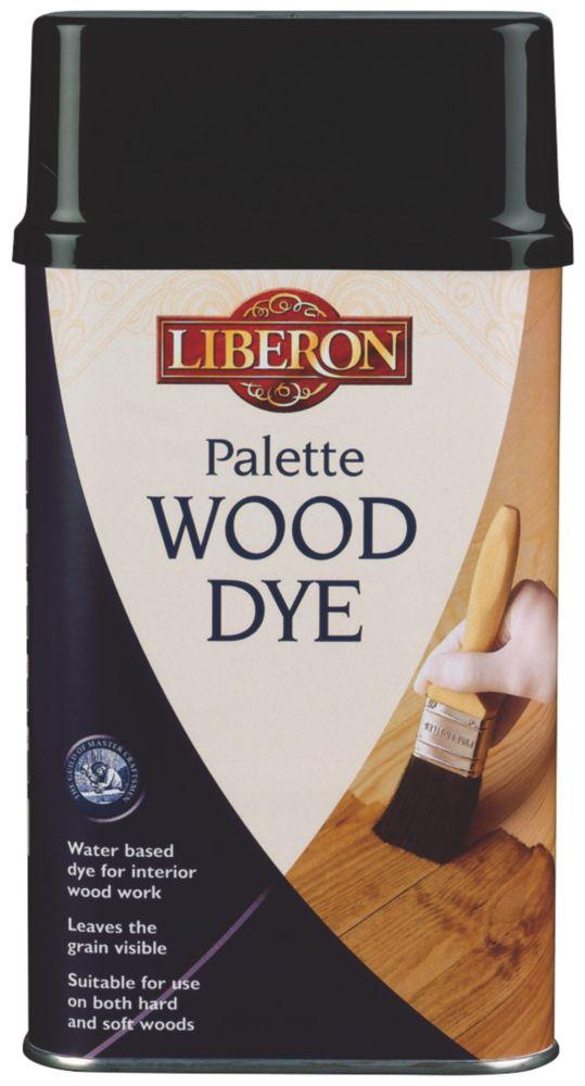 Liberon Water Based Interior Pallette Wood Dye Light Oak 250ml
