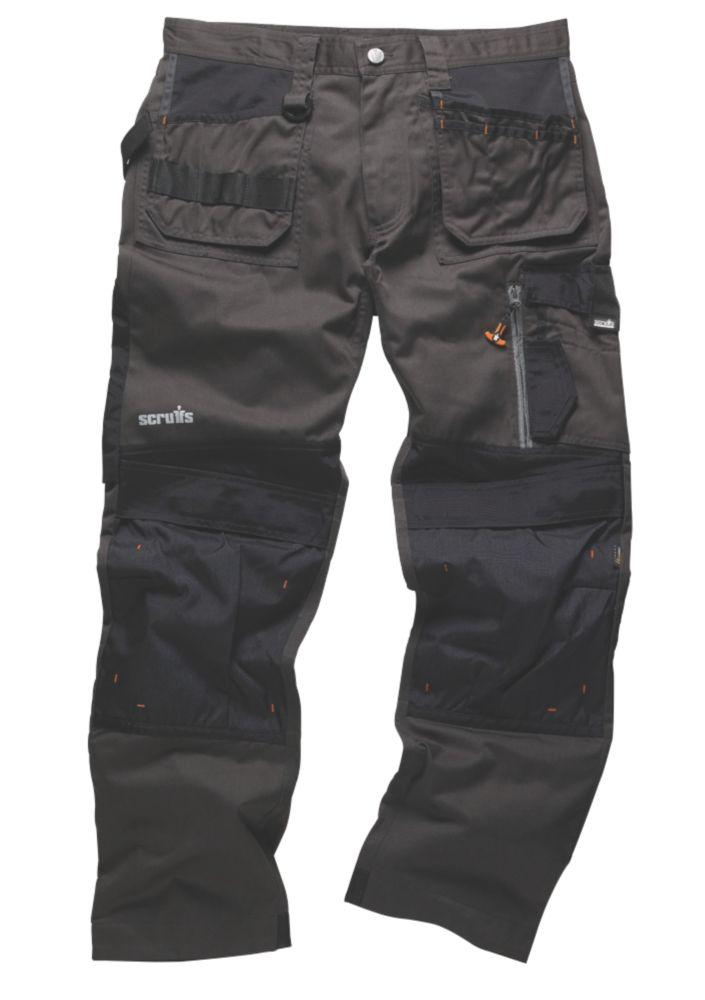 "Scruffs 3D Trade Trousers Graphite 30"" W 31"" L"