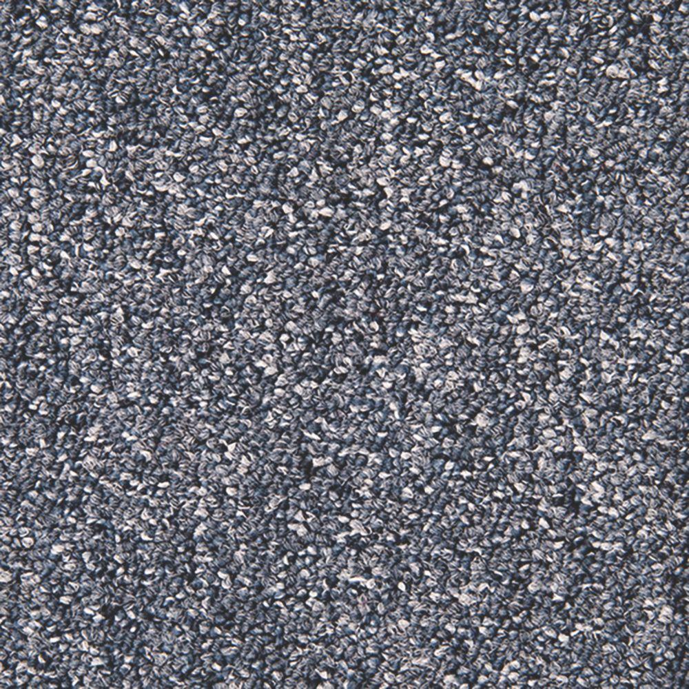 Abingdon Carpet Tile Division Unity Carpet Tiles Teal Blue 20 Pack
