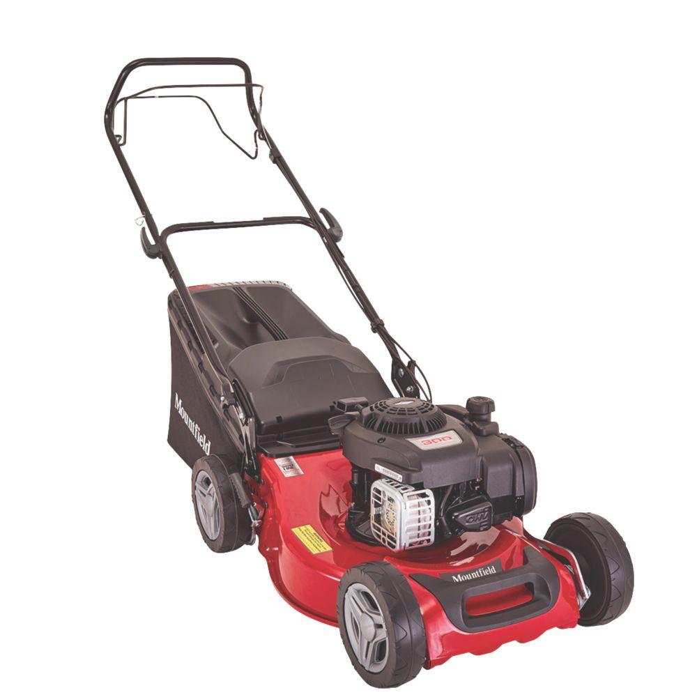 Mountfield SP185 46cm 125cc Self-Propelled Rotary Petrol Lawn Mower