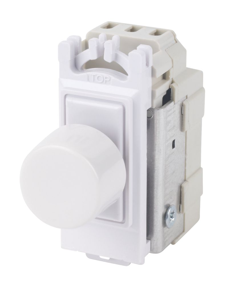 Varilight V-Pro 2-Way 120W Dimmer Switch Module White