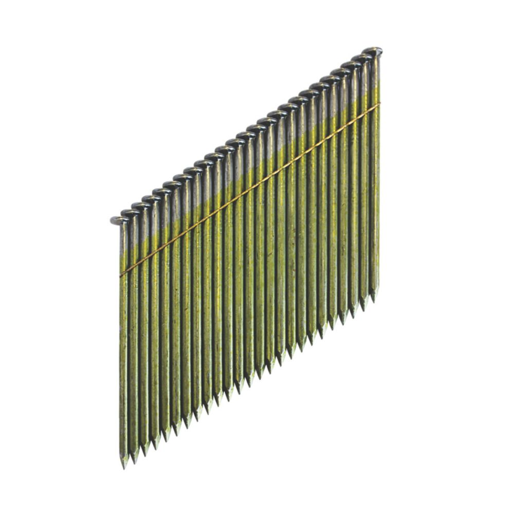 DeWalt Bright Collated Stick Framing Nails 2.8 x 63mm 2200 Pack