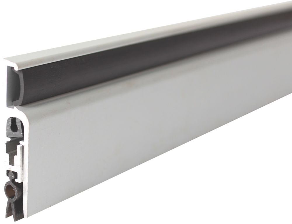 Diall Door Draught Excluder Aluminium  930mm