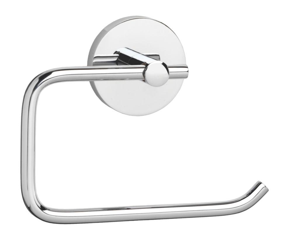 Croydex Pendle Flexi-Fix Toilet Roll Holder Chrome
