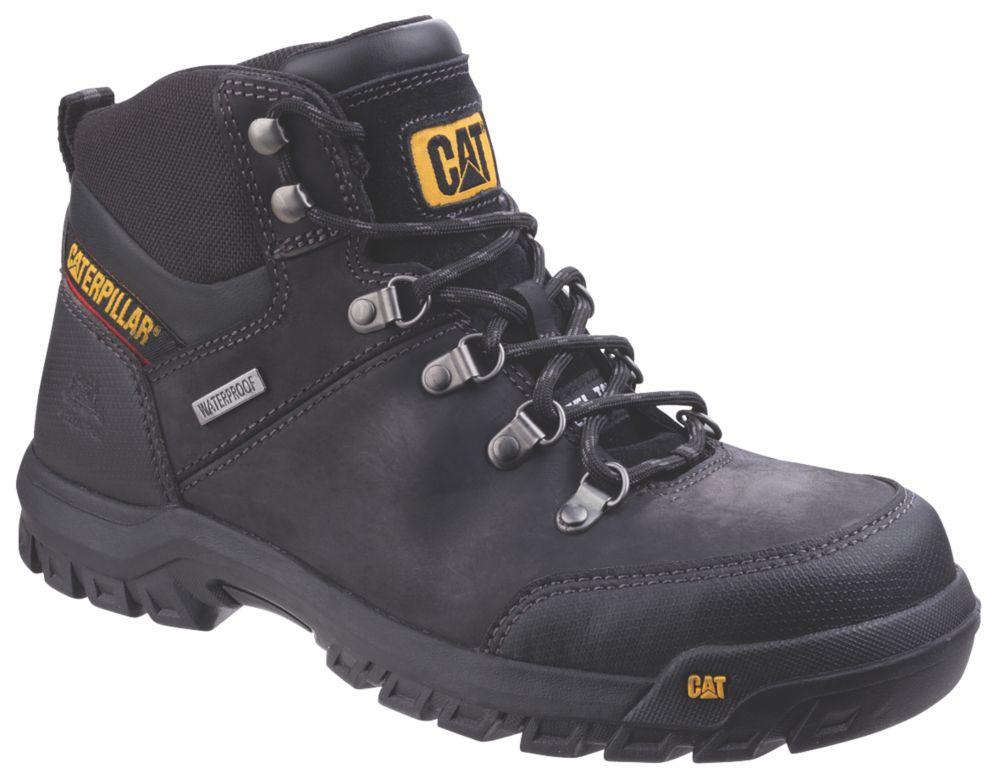 CAT Framework   Safety Boots Black Size 7