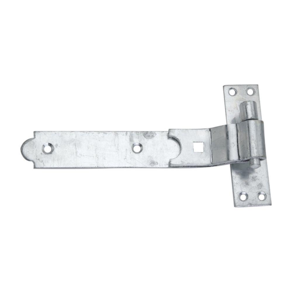 Smith & Locke  Gate Hinge Cranked Hook & Band 40 x 250 x 133mm