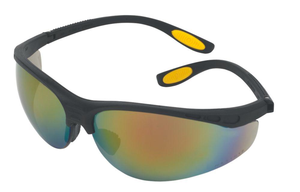 DeWalt Reinforcer Fire Mirror Lens Safety Specs