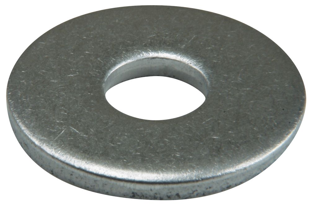 Easyfix A2 Stainless Steel Large Flat Washers M6 x 1.6mm 50 Pack