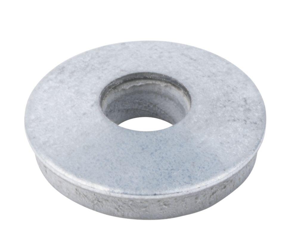 Easyfix Carbon Steel & Nylon EPDM Washers M7 x 3mm 100 Pack