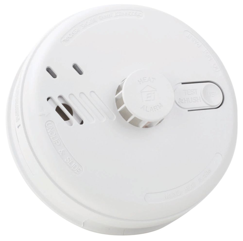 Aico EI144RC Mains & Battery-Powered Heat Alarm