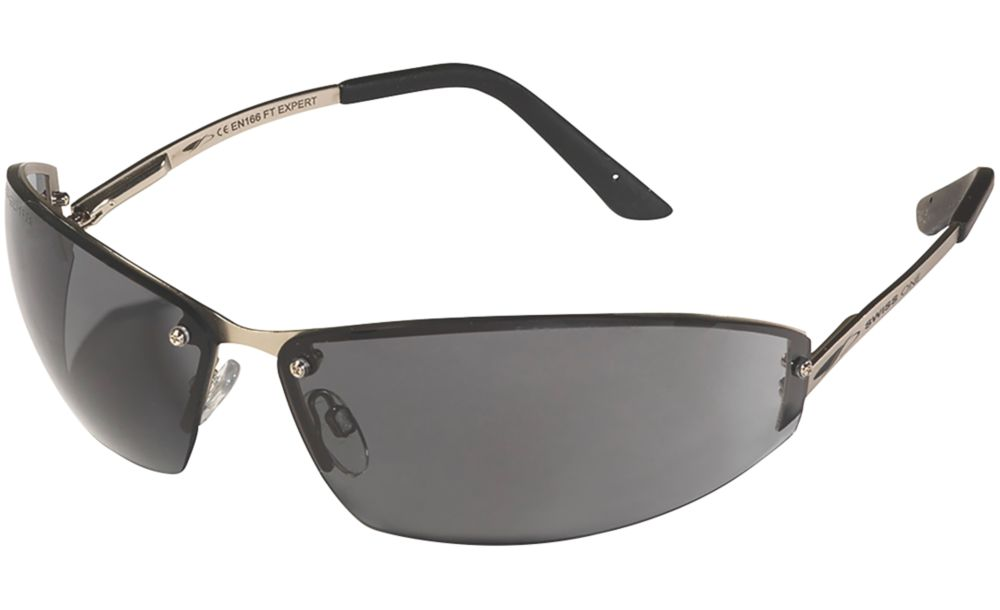 Swiss One Expert Smoke Lens Safety Specs