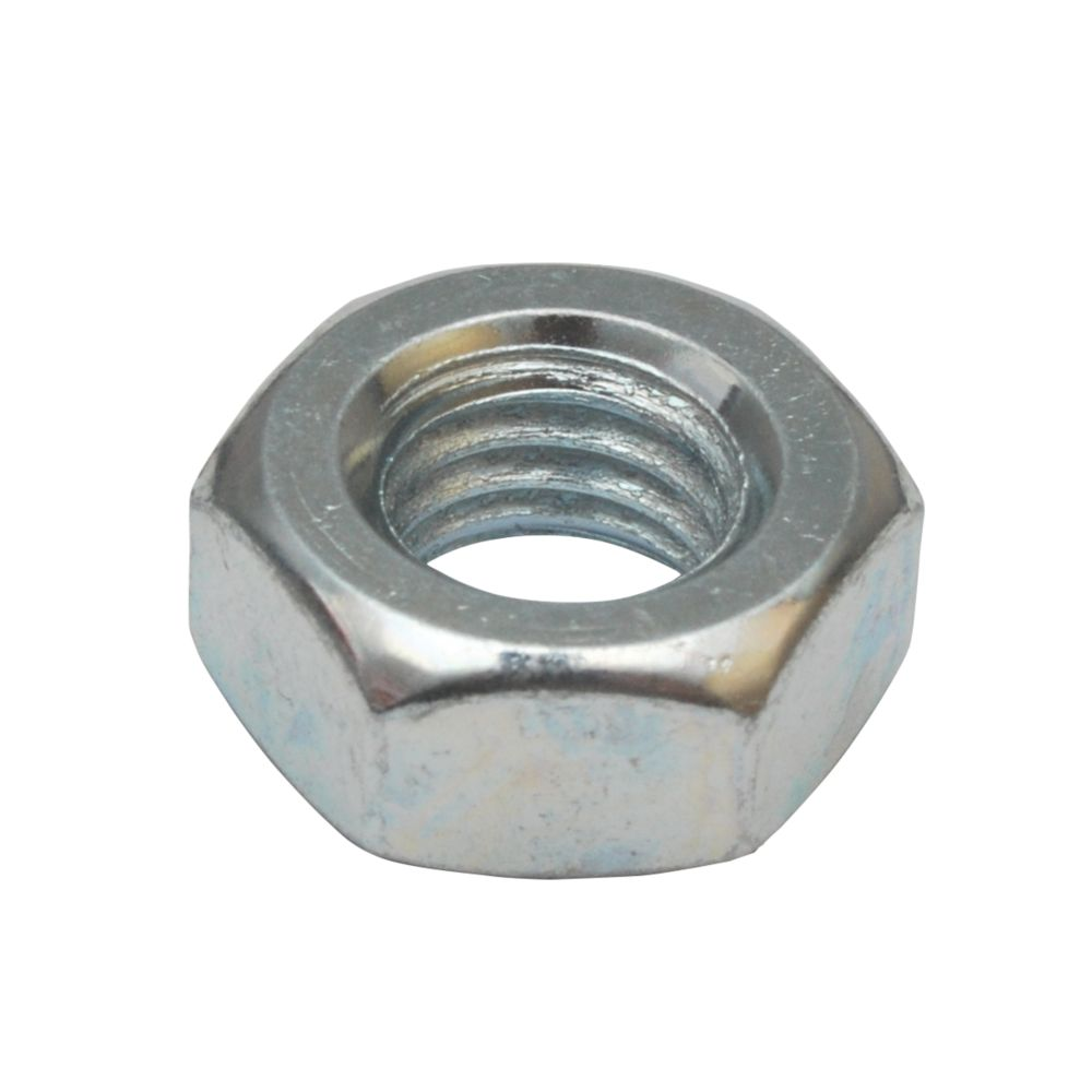 BZP Steel Studding Nuts M10 10 Pack