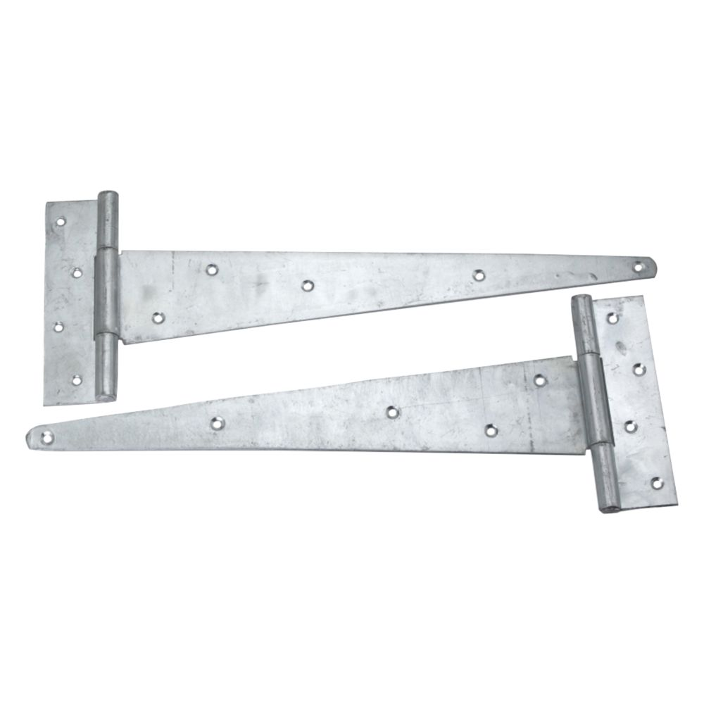 Smith & Locke Self-Colour Heavy Duty Scotch Tee Hinge 400mm 2 Pack