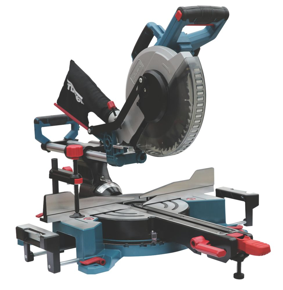 Erbauer EMIS254S 254mm  Electric Double-Bevel Sliding Mitre Saw 220-240V