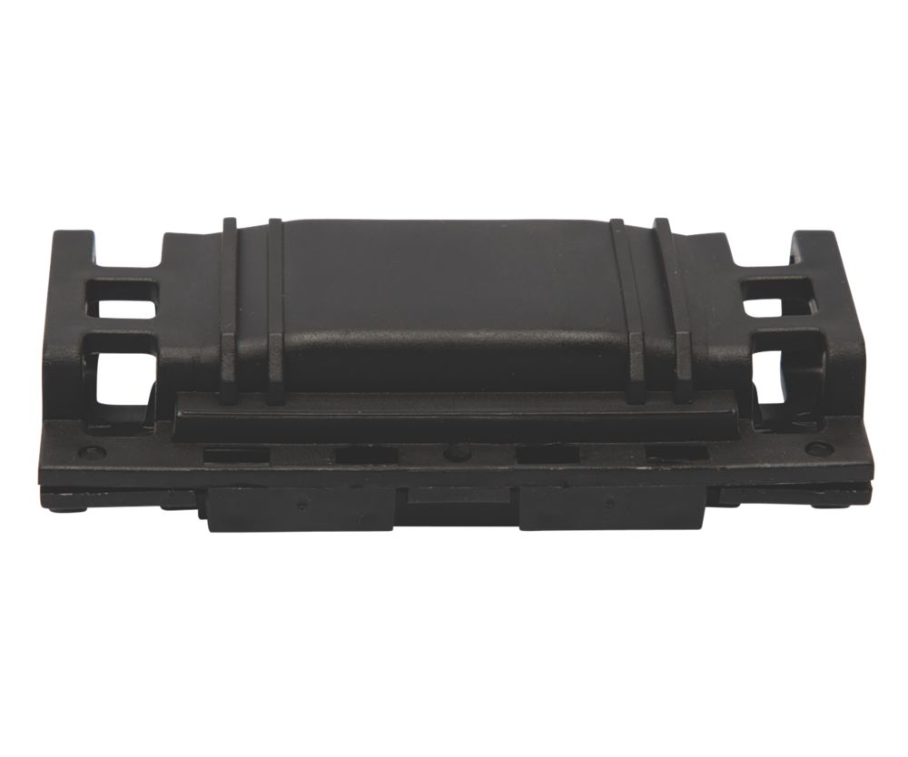 Raytech 2-Entry 3-Pole IPX8 Gel-Filled Straight Cable Joint Black