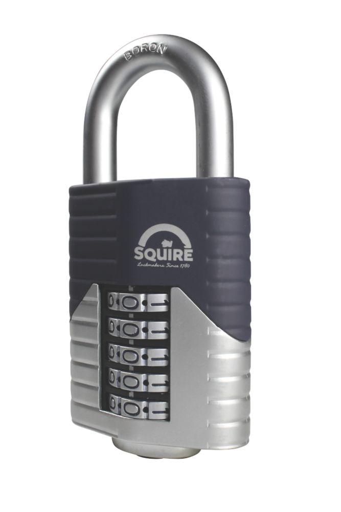Squire Vulcan Die-Cast Steel Weatherproof  Combination  High Security Padlock 60mm