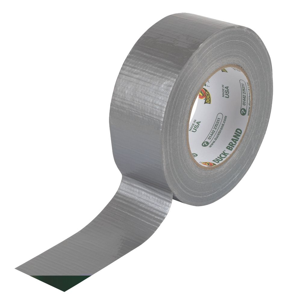 Duck Original Cloth Tape 50 Mesh Silver 50m x 50mm