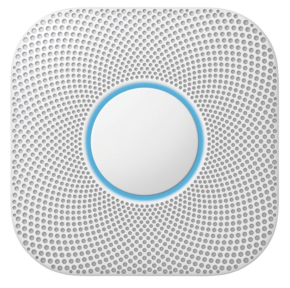 Google Nest S3000BWGB 2nd Generation Smoke & Carbon Monoxide Alarm