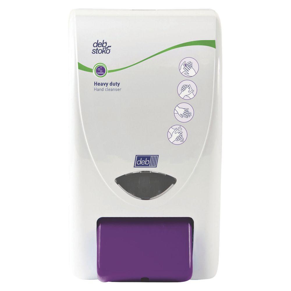 Deb Stoko White Heavy Duty Hand Cleanser Dispenser 2Ltr