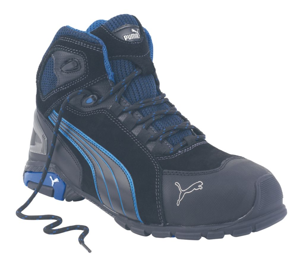 Puma Rio   Safety Trainer Boots Black Size 8
