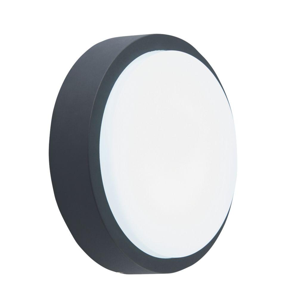 Virtus LED Round Bulkhead Black 10W