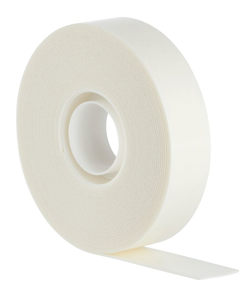 Scotch Permanent Double-Sided Indoor Mounting Tape White 5m x 19mm
