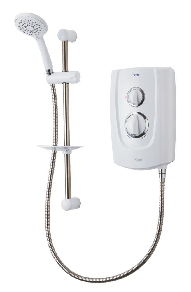 Triton T70gsi+ White 8.5kW  Electric Shower