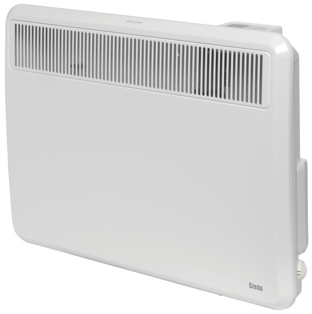 Creda TPRIII 100E Wall-Mounted Panel Heater  1000W 620 x 430mm