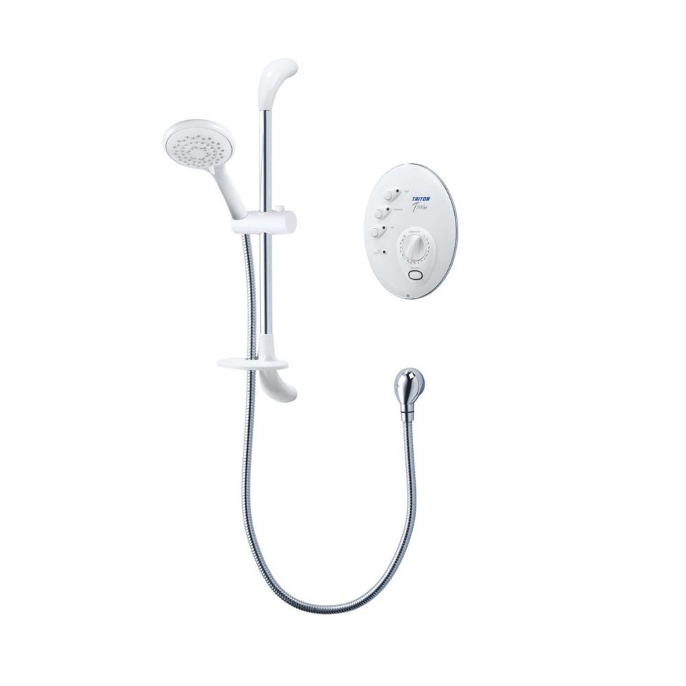 Triton T300si Remote White 8.5kW  Manual Electric Shower