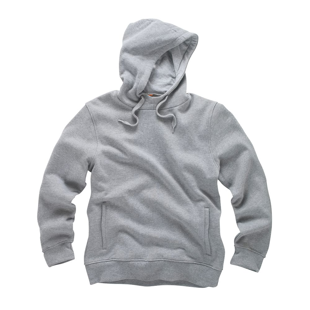 "Scruffs Worker Hoodie Grey X Large 48"" Chest"