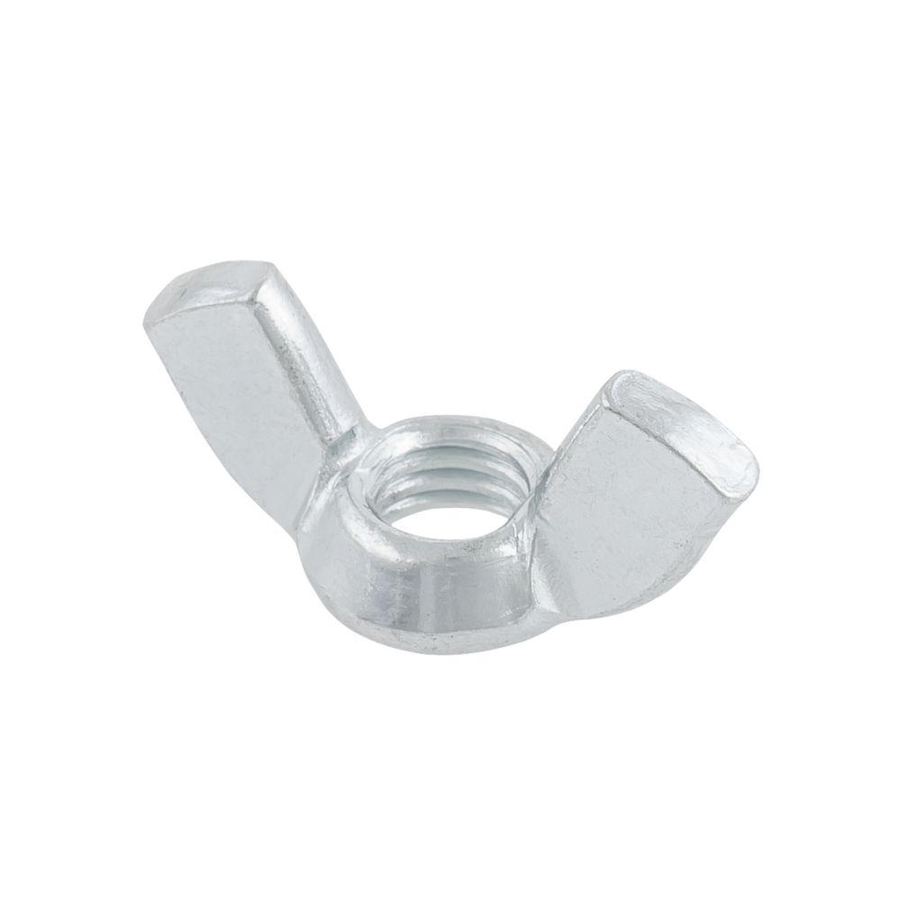 Easyfix Zinc-Plated Steel Wing Nuts M8 10 Pack