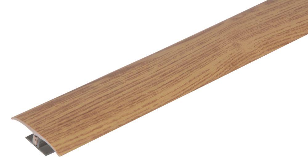 Vitrex Medium Oak Variable Height Wood/Laminate Floor Threshold 0.9m