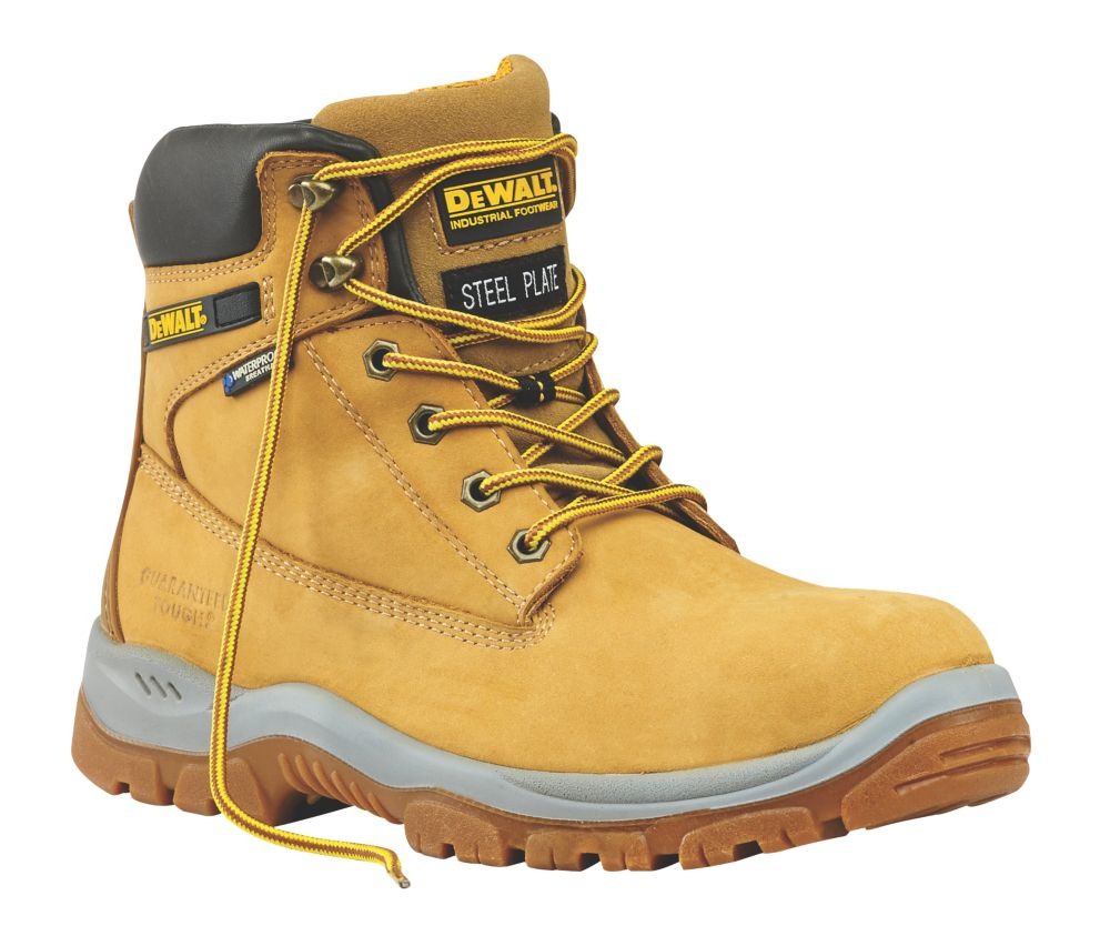DeWalt Titanium   Safety Boots Honey Size 12