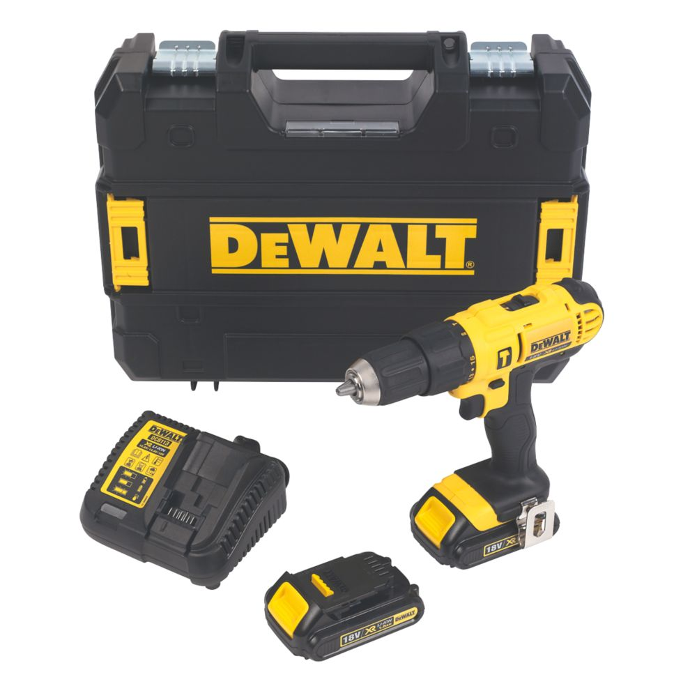 DeWalt DCD776S2T-GB 18V 1.5Ah Li-Ion XR  Cordless Combi Drill