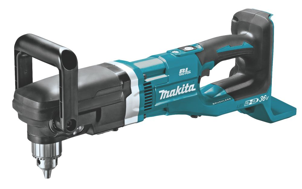 Makita DDA460ZK Twin 18V Li-Ion LXT Brushless Cordless Right-Angled Drill - Bare