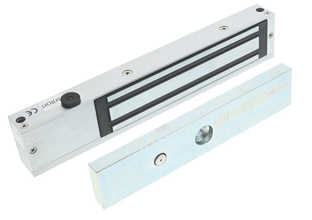 Briton 9551.M Single Mini Magnetic Door Lock Monitored Door Status 12 / 24V DC